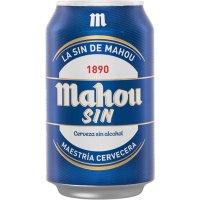 Mahou Sin 33cl Lata - 486
