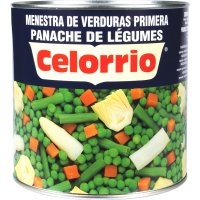 Menestra Verdures Celorrio 3kg Llauna - 5069