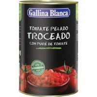 Tomate Troceado Gallina Blanca 4kg - 5136