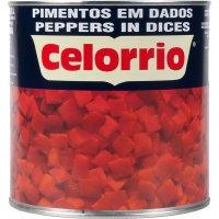 Pimiento Rojo Extra Dados Celorrio Lata 3kg - 5208