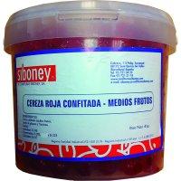 Cereza Roja Mitades Esc Siboney 4kg (1 U) - 6059