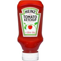 Ketxup Heinz 250gr Tdown Pet - 6116