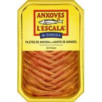 Anchoas De L'escala Tarrina 50 Filetes - 6138