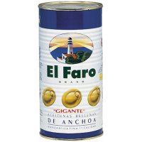 Aceitunas Rellenas Faro Gigantes 2kg - 6206
