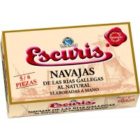 Navalles Al Natural Rrgg Escuris Ol-120 6/8 - 6358