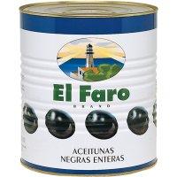 Aceitunas Faro Negras Lata 181-220 5kg - 6411