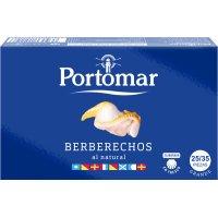 Berberechos Portomar 25/35 Piezas 120gr - 6415