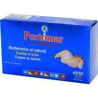 Berberechos Portomar 45/55 Piezas 115gr - 6418
