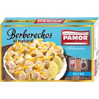Berberechos Pamor 35/45 Piezas 120gr - 6423