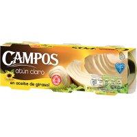 Atun Claro Ac.girasol Campos Ro-85 Pack-3 (20 U) - 6445