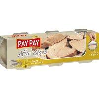 Atún Claro Aceite Girasol Pay Pay Ro-85 Pack 3 - 6450