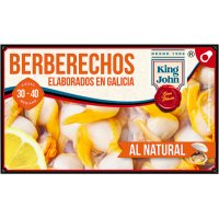 Berberechos King John Rias 30/40 Piezas - 6474