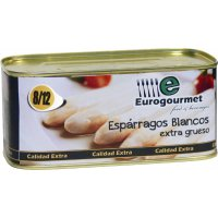 Espàrrec Eurogourmet 8/12 Llauna 1kg - 6519