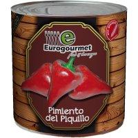 Pimiento Piquillo Eurogourmet 80/100 Lata 3kg - 6520