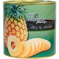 Piña Almibar Eurogourmet 3kg - 6526
