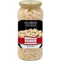 Alubias Blancas Extra Cocidas Pamor Tarro 1kg - 6667