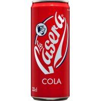 La Casera Llauna Sleek Cola A/cafeïna 33cl - 8