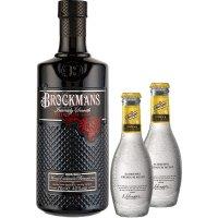 Gin Brockmans 70cl+8 Tonicas Premium Schweppes - 80989