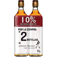 Whisky Jw Red 1l Pack 2bot 10%dto Promocaja - 83551