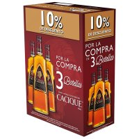 Ron Cacique Oro 70cl 10% Dto - 83556