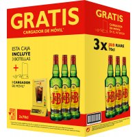 Whisky J&b 70cl 3bot+6 Vasos Sidra Promocaja - 83563
