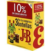 Whisky J&b 70cl Promocaja 10% Dto - 83564