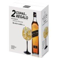Whisky Jw Black 70cl 1 Bot + 2 Copas - 83577