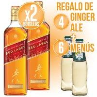 Whisky Jw Red + 4 Ginger Ale + 6 Menus - 83578