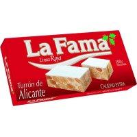 Turron De Alicante Extra La Fama 150gr - 8625