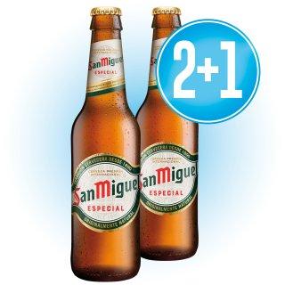 2 CAJAS SAN MIGUEL 1/3 RETORNABLE + 1 DE REGALO