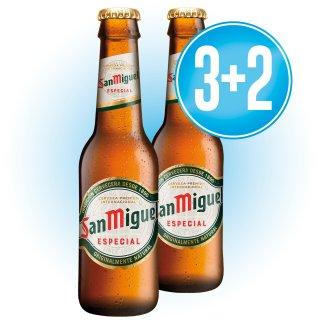 3 Cajas San Miguel 1/5 Ret (24 U) + 2 De Regalo