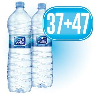 37 Cajas Font Vella 1,5lt (6u) + 47 De Regalo