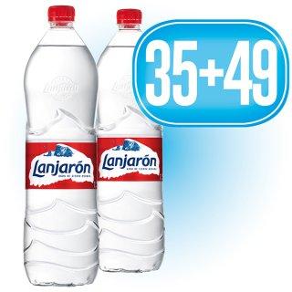 35 Cajas Lanjarón 1,5lt (6u) + 49 De Regalo