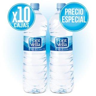 10 CAJAS FONT VELLA 1,5 LT (6 U) A PRECIO ESPECIAL