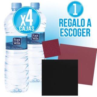 4 Cajas Font Vella 1250 O Font Vella 1/2 + Regalo A Escoger