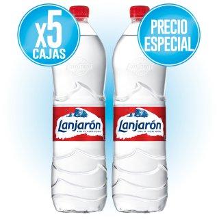 5 CAJAS LANJARON 1,5 LT (6 U) A PRECIO ESPECIAL