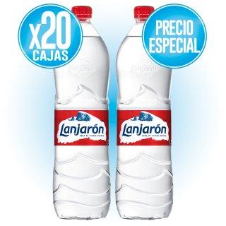 20 CAJAS LANJARON 1,5 LT (6 U) A PRECIO ESPECIAL
