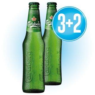 3 Cajas Carlsberg 1/3 Ret (24 U) + 2 De Regalo