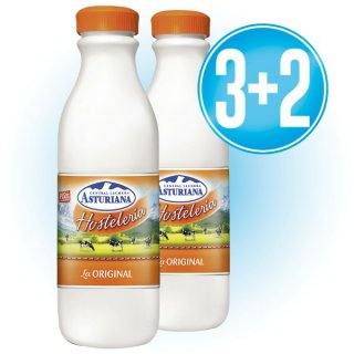 3 Caixes Asturiana 1,5lt Hosteleria Original (6u) + 2 de Regal
