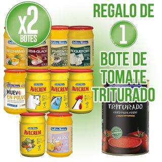 2 Unidades Selección Gallina Blanca + Regalo de 1 lata Tomate Triturado Gallina Blanca 5kg
