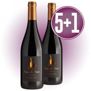 5 Cajas Cap De Ruc Vi De Guarda (6u) + 1 De Regalo