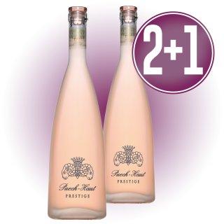 2 Bot Chateau Puech Haut Rose Prestige + 1 De Regalo