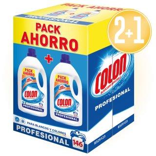 2 Unitats Detergente Colon Gel Pack 9,8kf + 1 De Regal