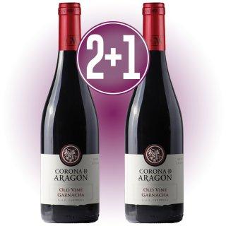 2 CAJAS DE CORONA ARAGÓN OLD WINE + 1 DE REGALO