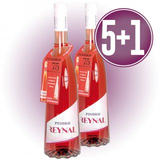5 Bot Pinor Reynal Rosat + 1 De Regal