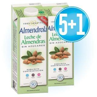 5 Brik Almendrola 1lt + 1 De Regal