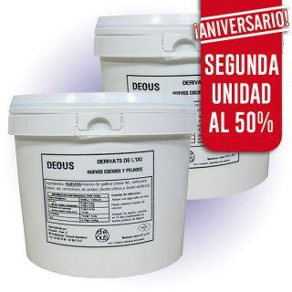 MODULO HUEVO COCIDO 40U CON DESCUENTO