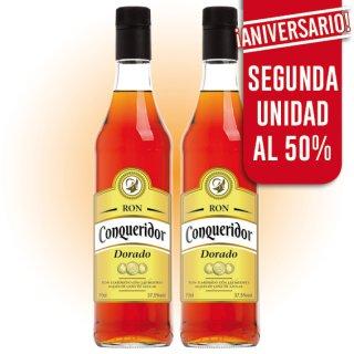 MODULO RON CONQUERIDOR DORADO CON DESCUENTO