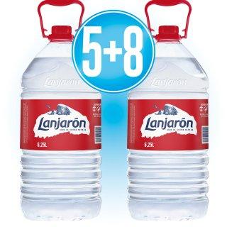 5 CAIXES LANJARON 6.25 LT (3U) + 8 DE REGAL