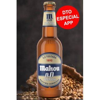MODULO 1 MAHOU 00 TOSTADA 1/3SR CON DESCUENTO